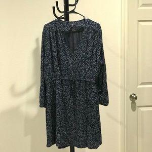 Gap long sleeve floral dress